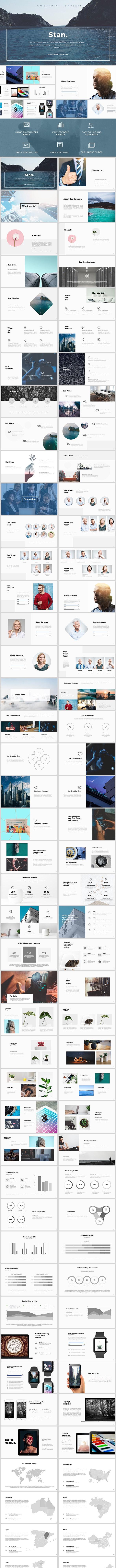 Stan Powerpoint Tempate - PowerPoint Templates Presentation Templates