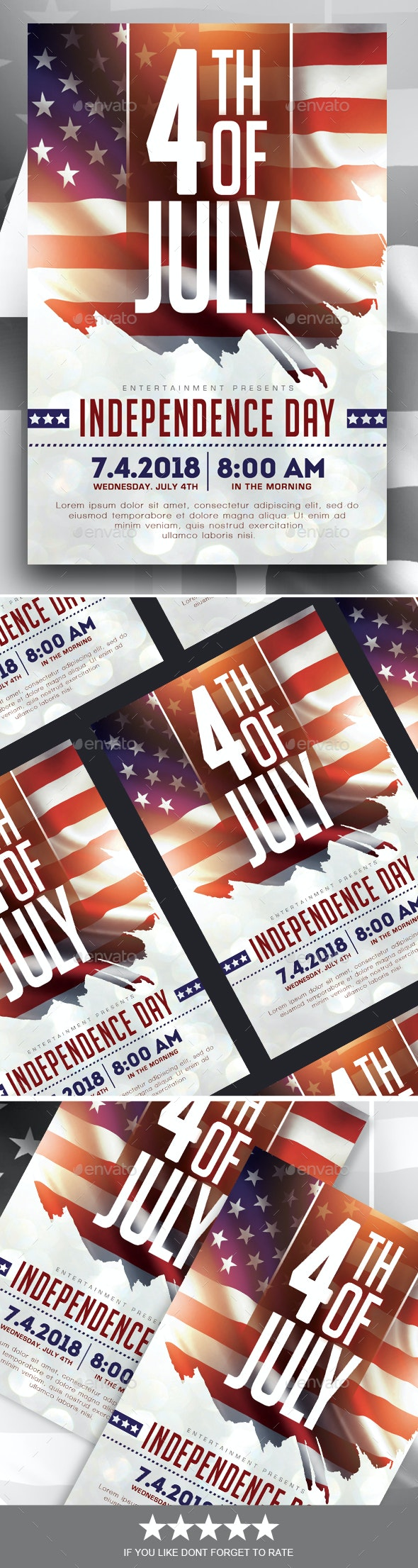 Independence Day Flyer - Events Flyers