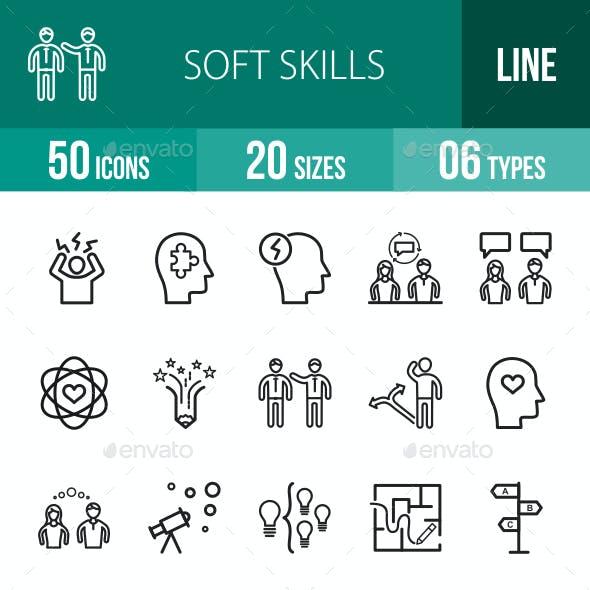 Soft Skills Line Icons
