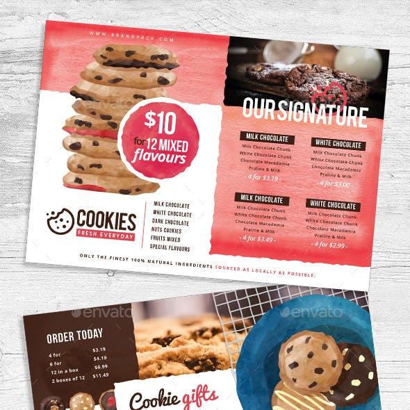Cookie Shop Flyers