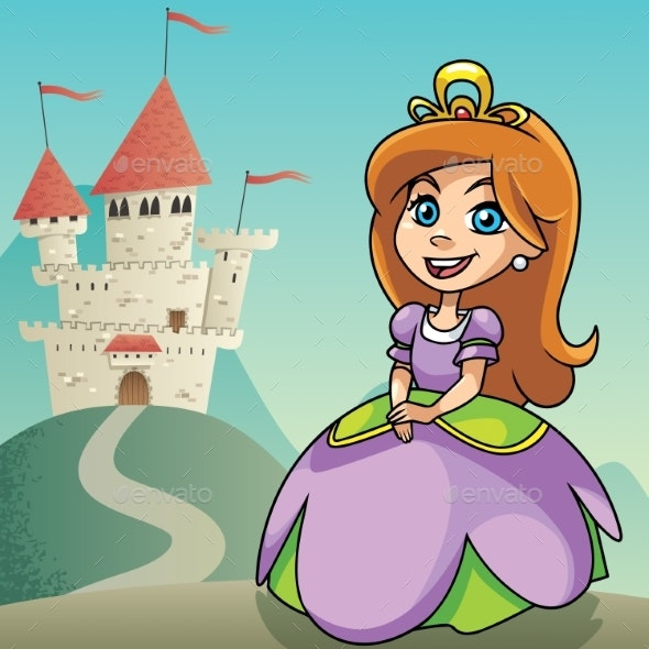 Little Princess Background 2 - People Characters