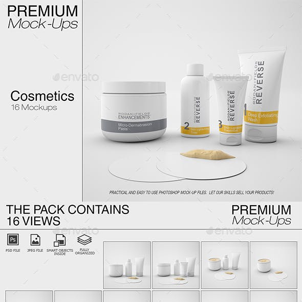 Cosmetics Mockup Pack