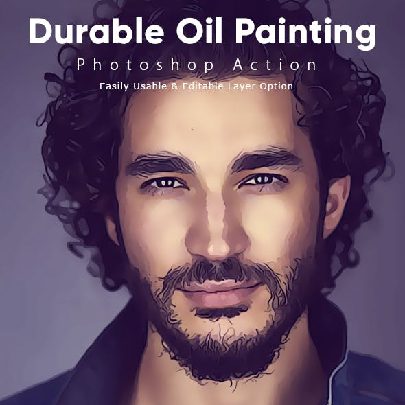 Durable Oil Painting Action