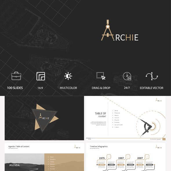 Archie - Animated Presentation Keynote Template