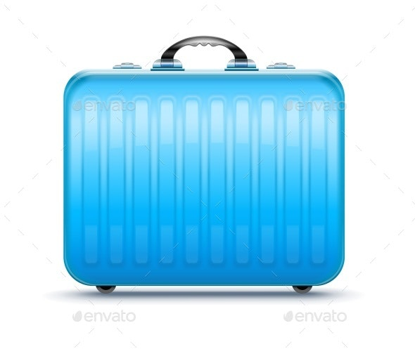 Suitcase for Travel - Man-made Objects Objects
