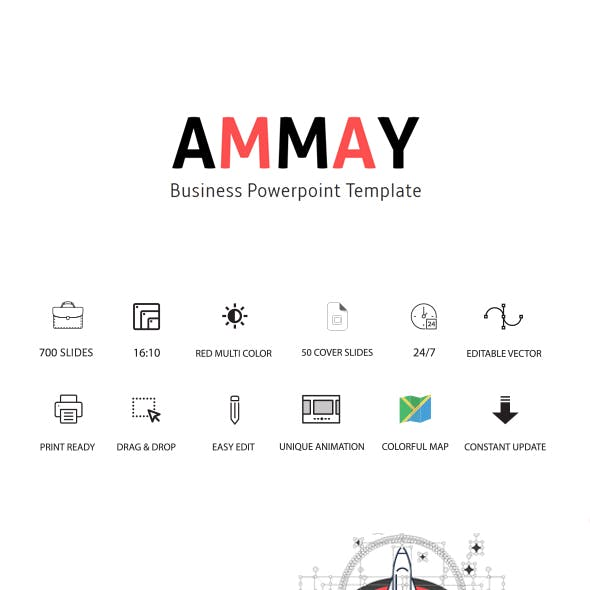 Ammay Business Keynote Template