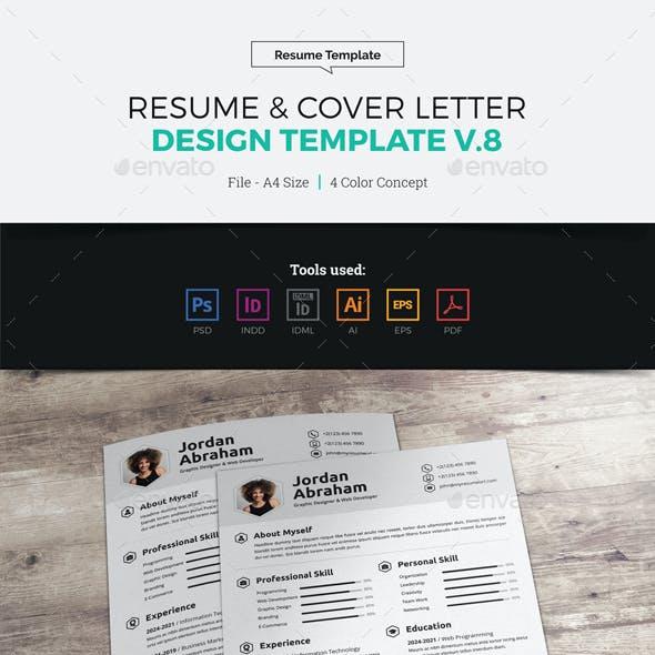 Resume & Cover Letter Design v8