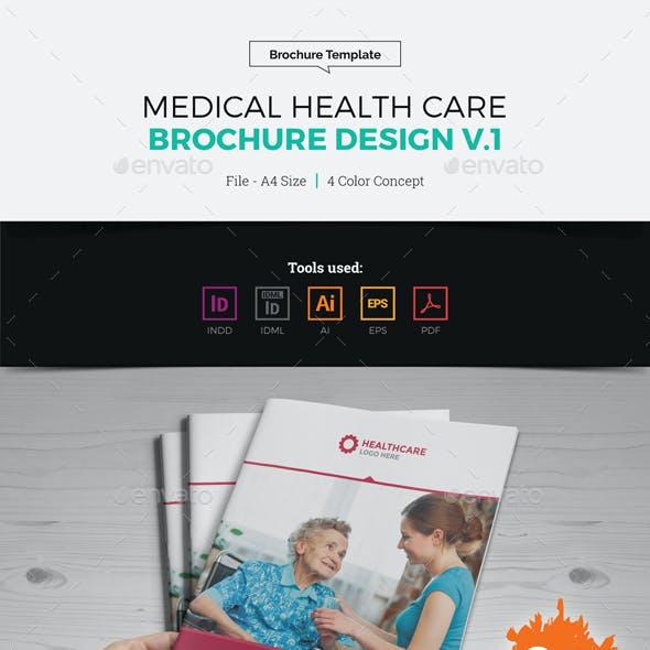 Medical Health Care Brochure Design v1