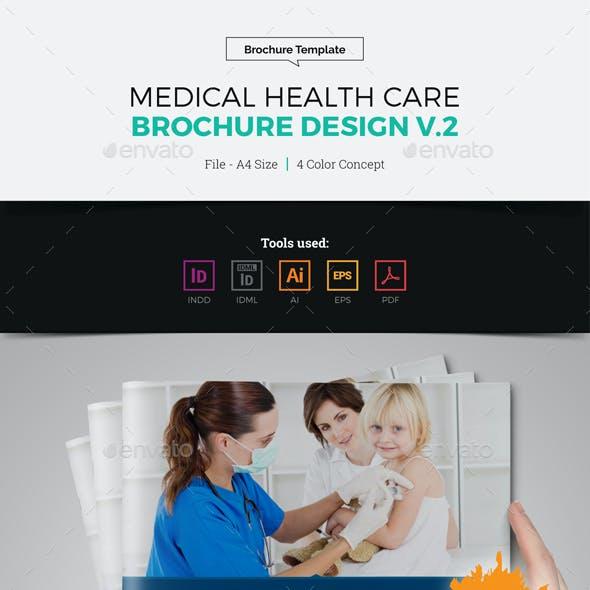 Medical Health Care Brochure Design v2