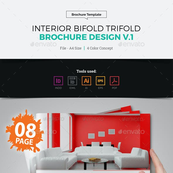 Interior Bifold Trifold Brochure Catalog
