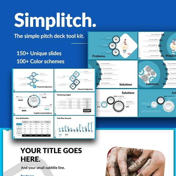 Simplitch - Simple Pitch Deck Presentation Template