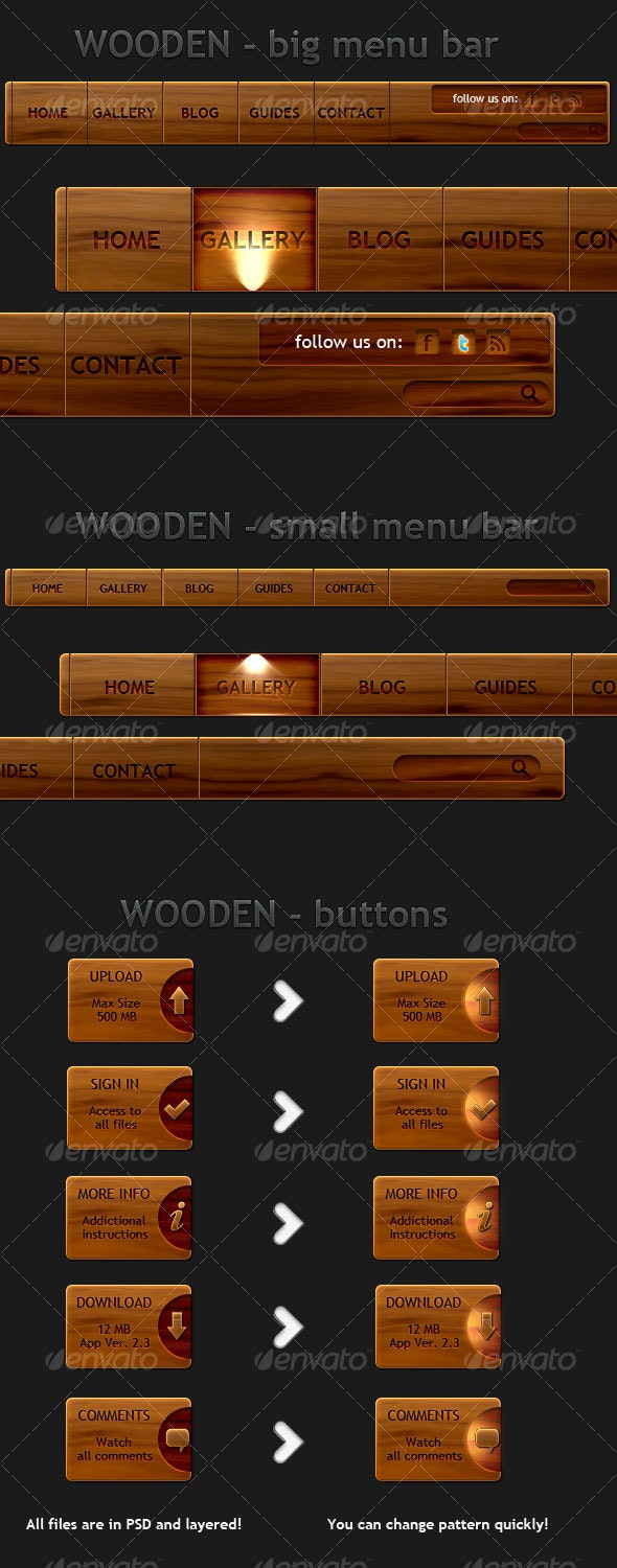 miniDEV wooden - Miscellaneous Web Elements