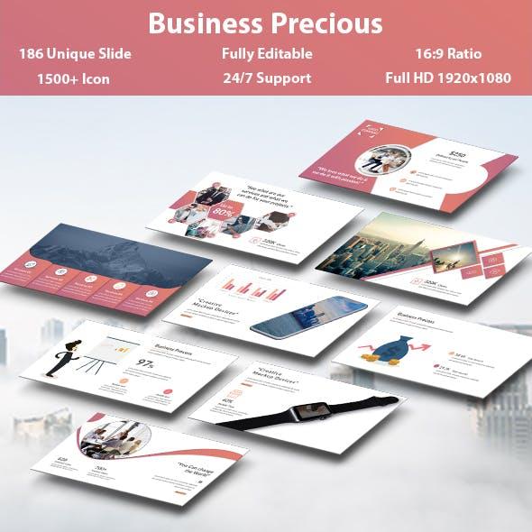 Business Precious PowerPoint Template