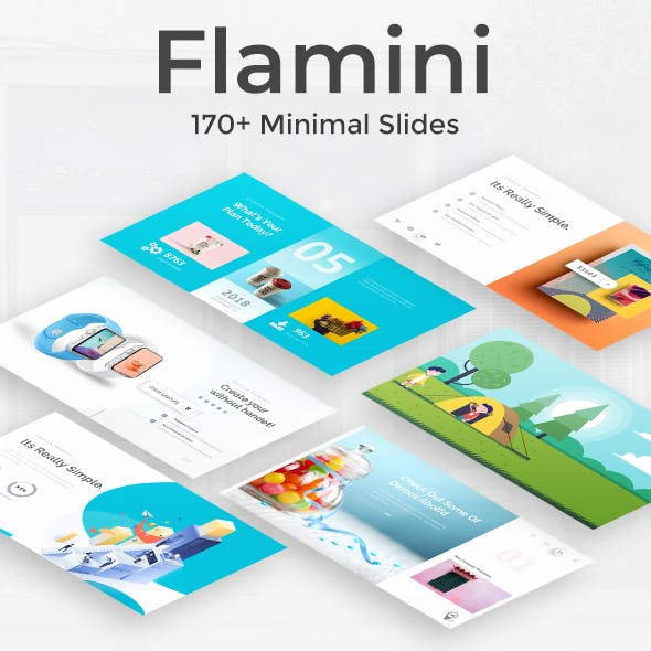 Flamini Minimal Google Slide Template