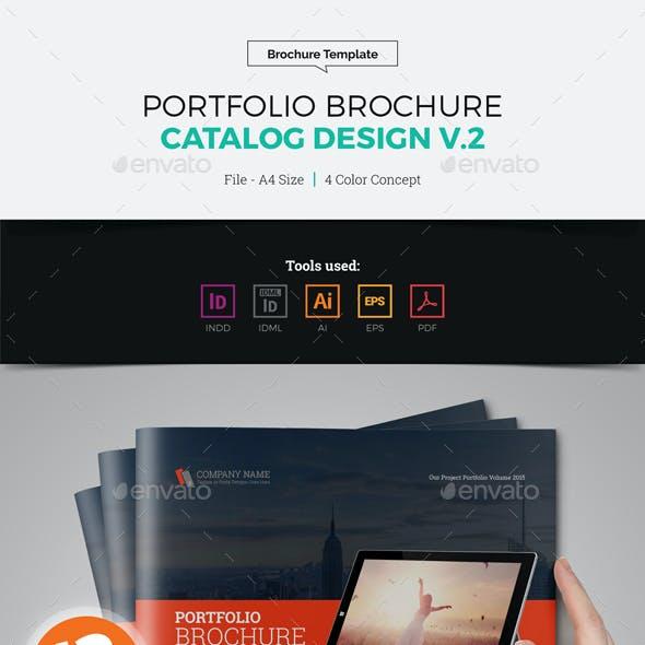Portfolio Brochure Catalog Design v2