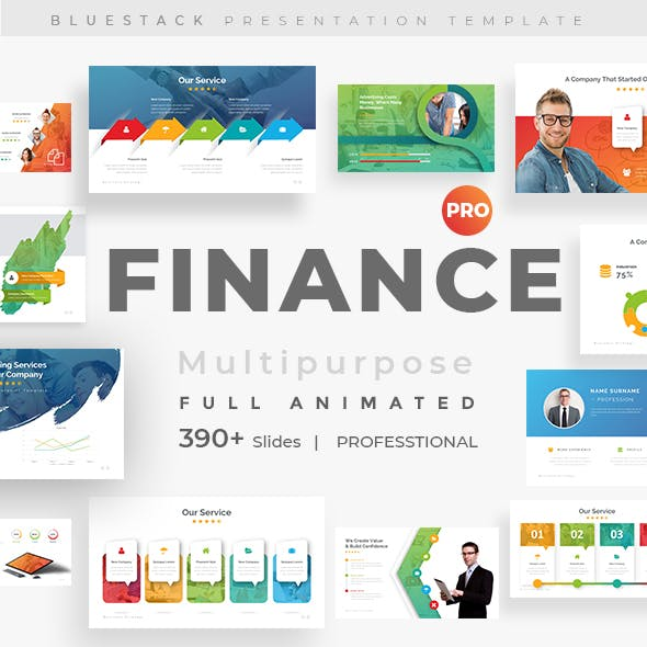 Finance Fully Animated Pitch Deck Google Slide Template