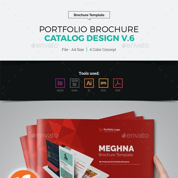 Portfolio Brochure Catalog Design v6