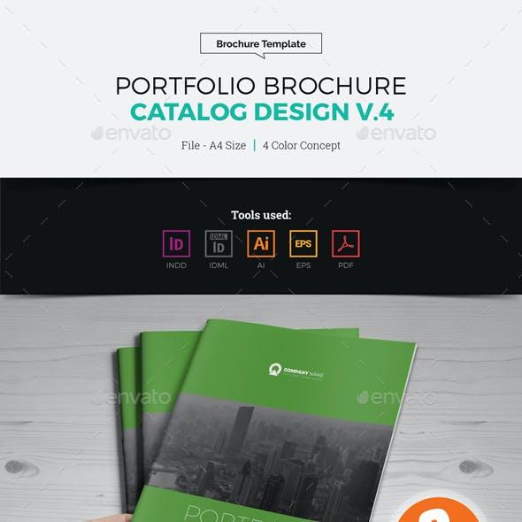 Portfolio Brochure Catalog Design v4