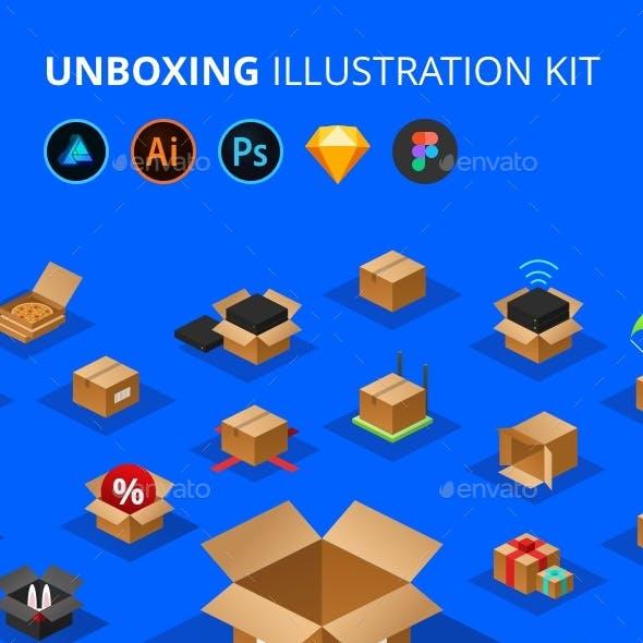 Unboxing Illustration Kit