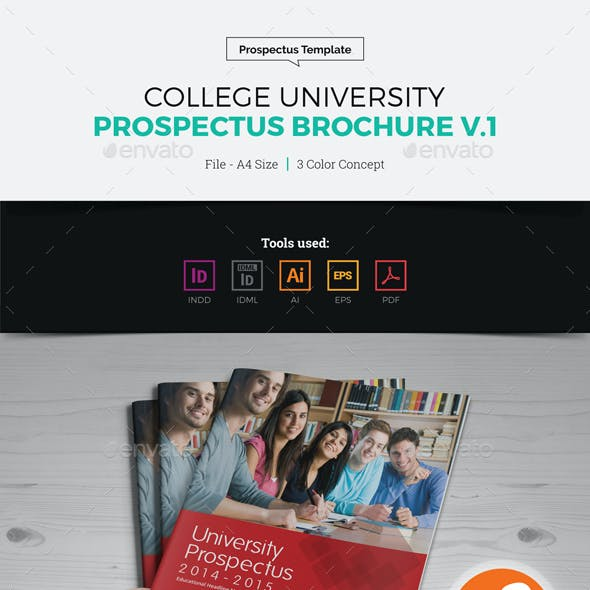 College University Prospectus Magazine