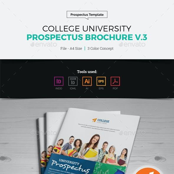 College University Prospectus Brochure v3