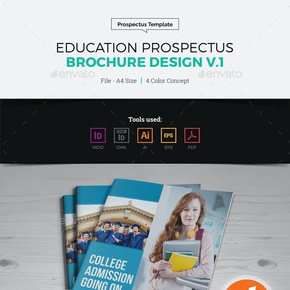 Education Prospectus Brochure Design v1
