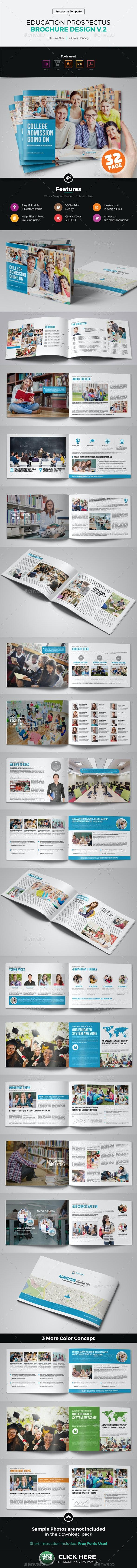 Education Prospectus Brochure Design v2 - Corporate Brochures