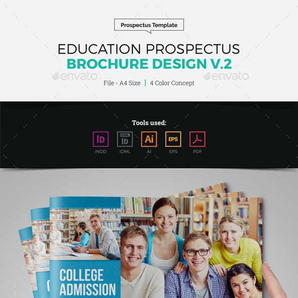 Education Prospectus Brochure Design v2