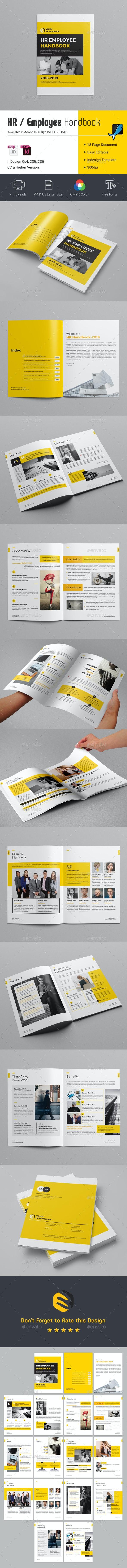 HR / Employee Handbook - Informational Brochures