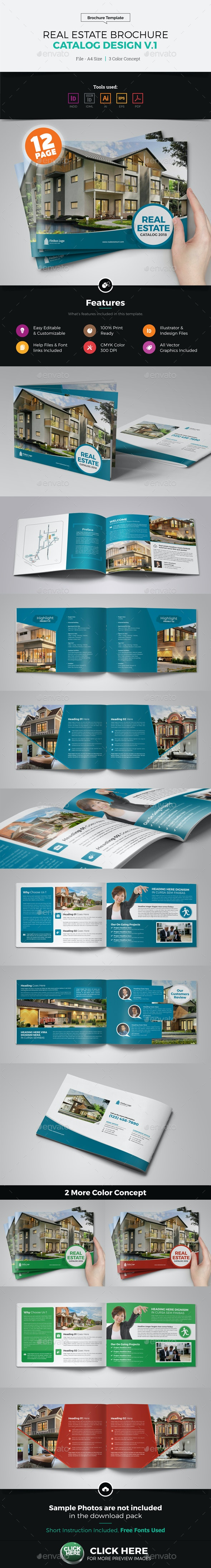 Real Estate Agency Brochure Catalog v1 - Catalogs Brochures