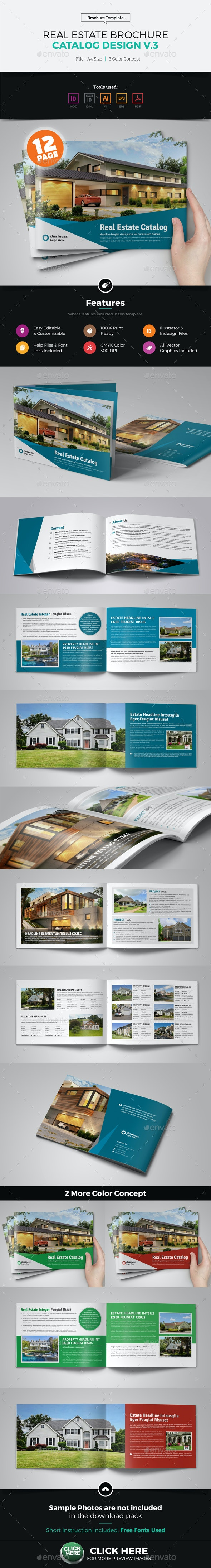 Real Estate Agency Brochure Catalog v3 - Catalogs Brochures