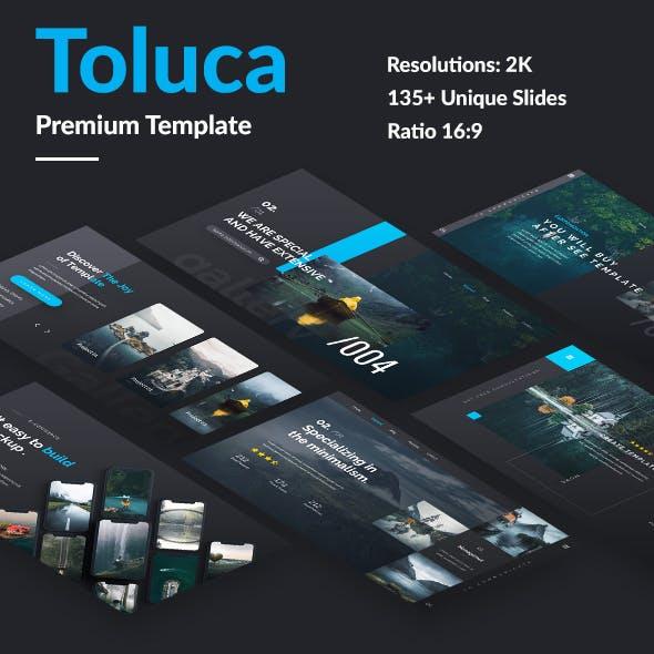 Toluca Premium Design Google Slide Template