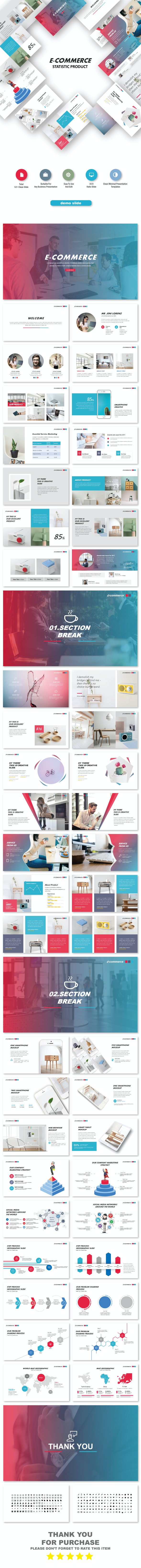 E-Commerce Business Keynote Templates - Business Keynote Templates