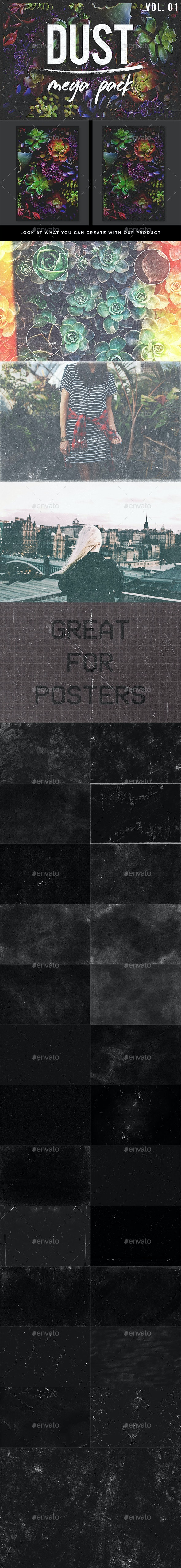 Dust Overlays Pack Volume 01 - Art Textures