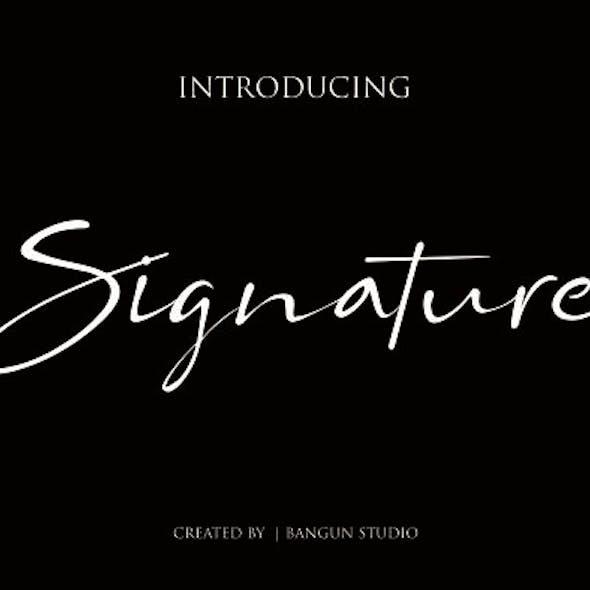 Bs Signature