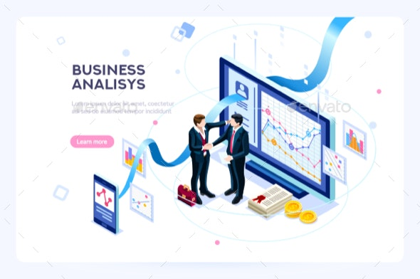 Contemporary Marketing Illustration - Concepts Business