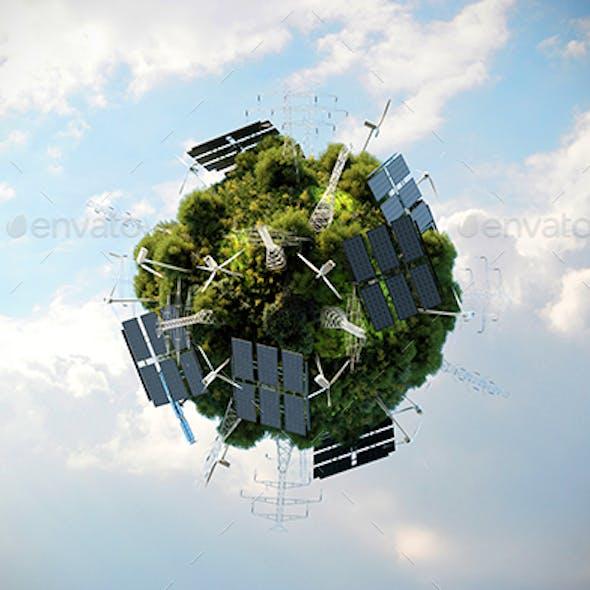 Green Energy Planet