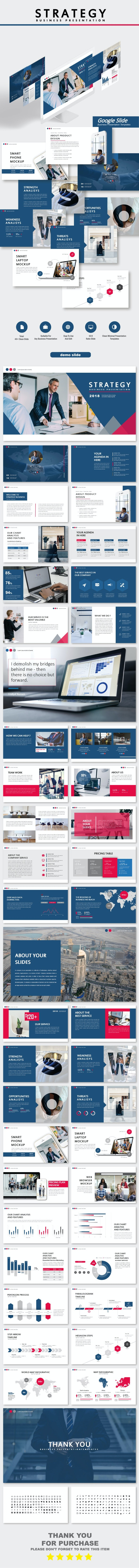 Strategy Business Google Slide Templates - Business PowerPoint Templates