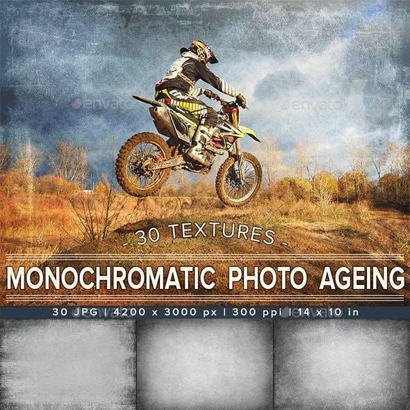 Monochromatic Photo Ageing | Photo Overlay Textures