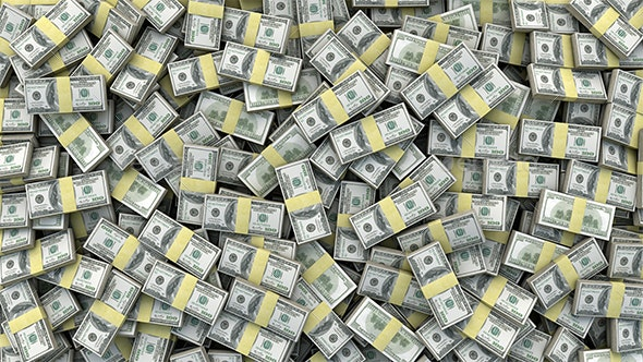 Pile Of Dollars - Backgrounds Graphics