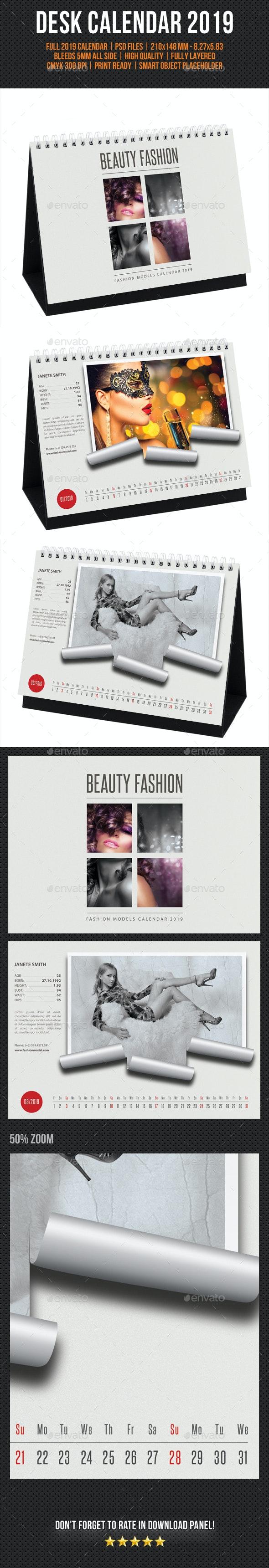 Creative Desk Calendar 2019 V13 - Calendars Stationery