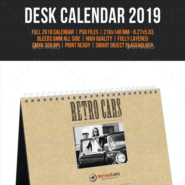 Creative Desk Calendar 2019 V12
