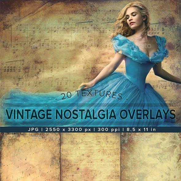 Vintage Nostalgia   Photo Overlay Textures