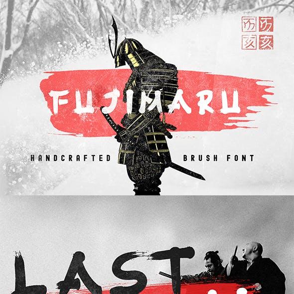 Fujimaru - Ninja's Brush Font