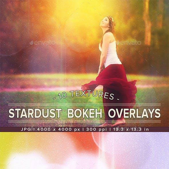 Stardust Bokeh BG | Photo Overlay Textures