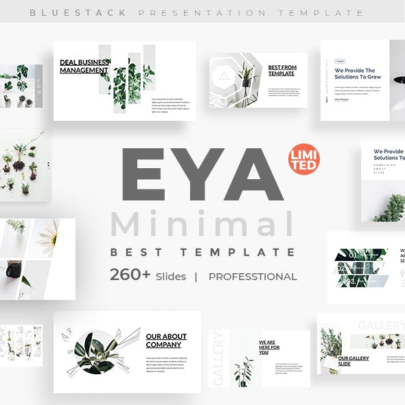 EYA Minimal & Clean Keynote Template