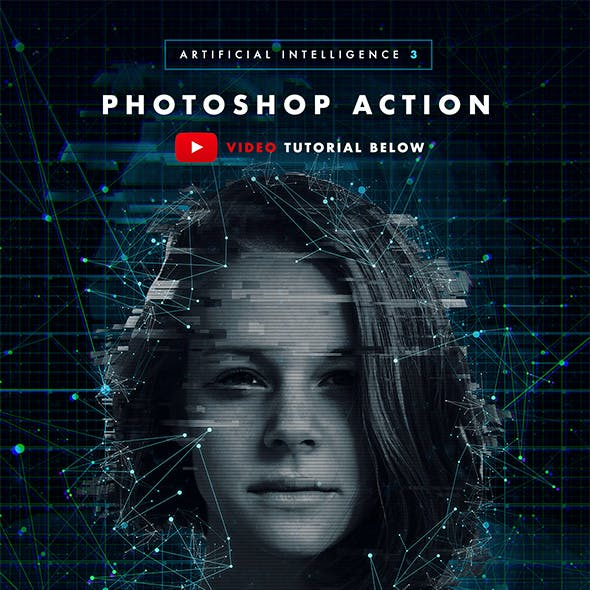 Artificial Intelligence 3 Photoshop Action