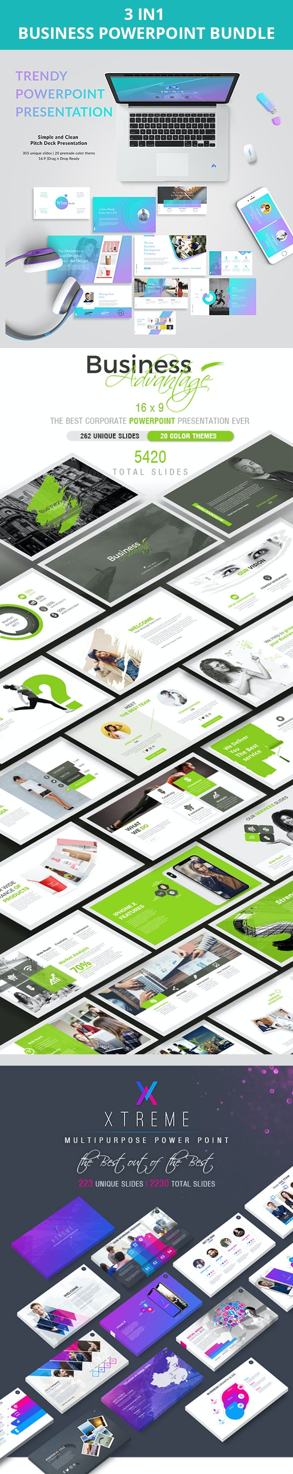 Business  PowerPoint  Bundle - Business Keynote Templates
