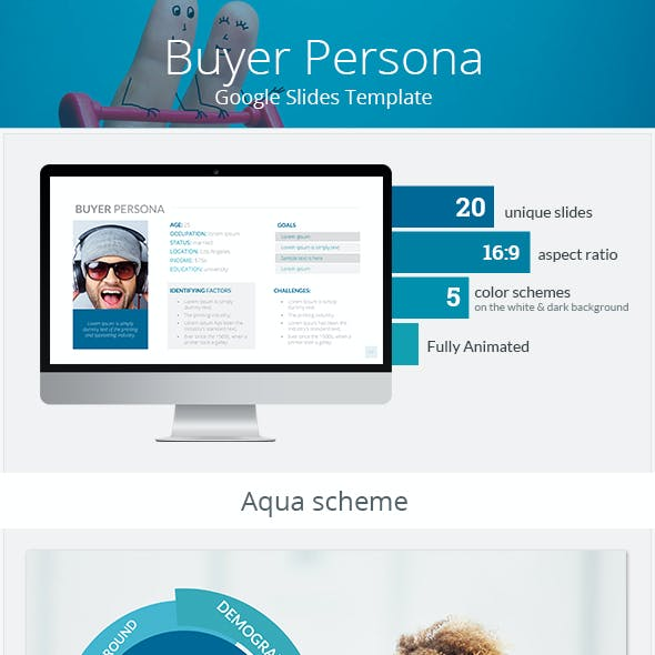 Buyer Persona Google Slides Template