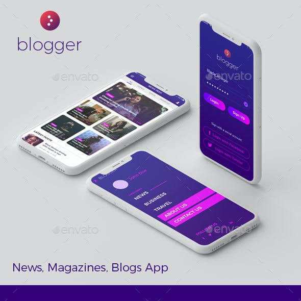 Blogger - News, Magazines, Blogs App